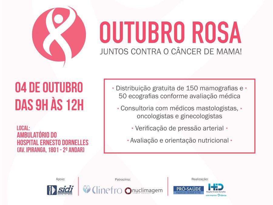 Top Hospital Ernesto Dornelles - Outubro Rosa: vamos tocar no assunto? VC59